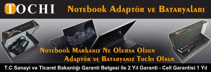 Muadil Notebook Adaptör